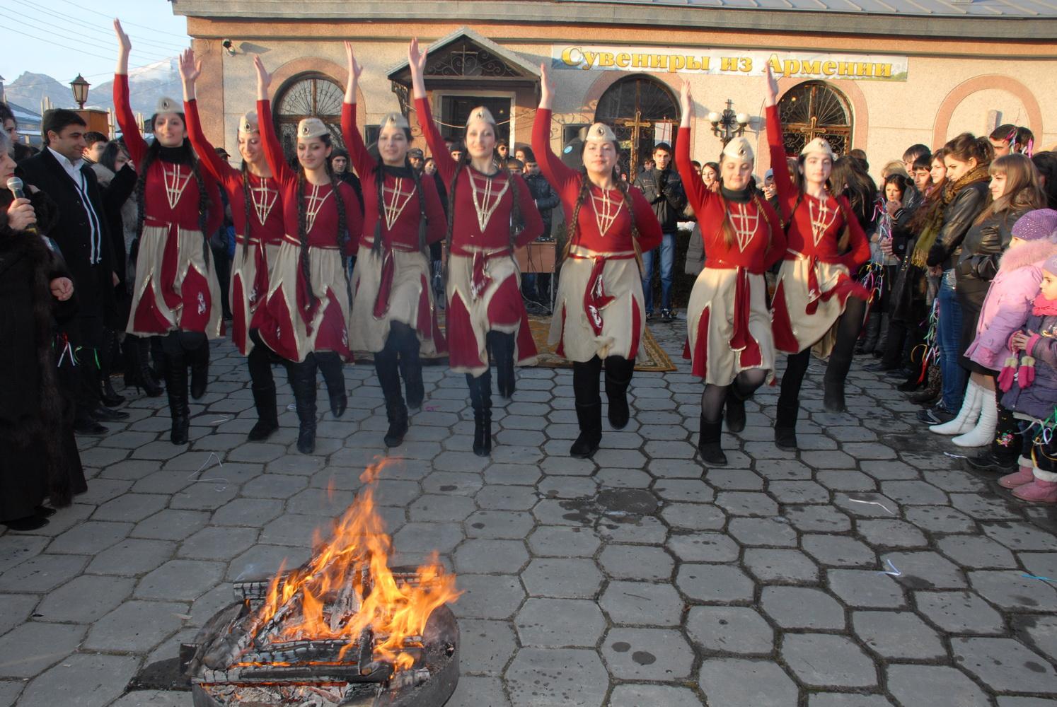 Трндез - армянский национальный праздник, который ежегодно широко отмечается 13 февраля